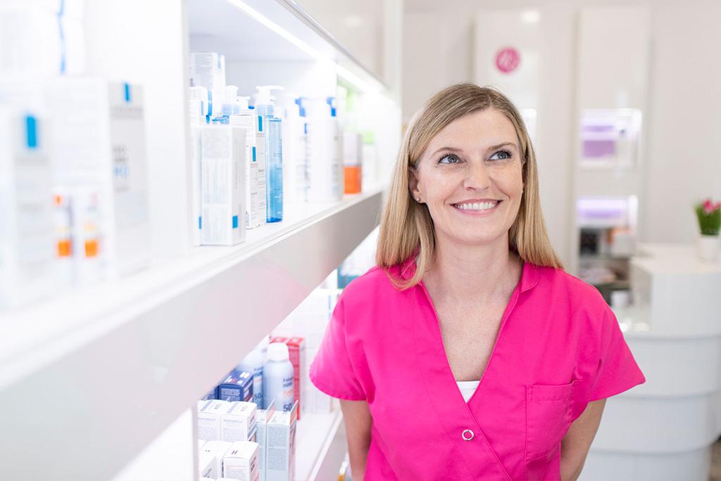 Dieses Bild zeigt die Kosmetikerin Frau Bianca Schneider.