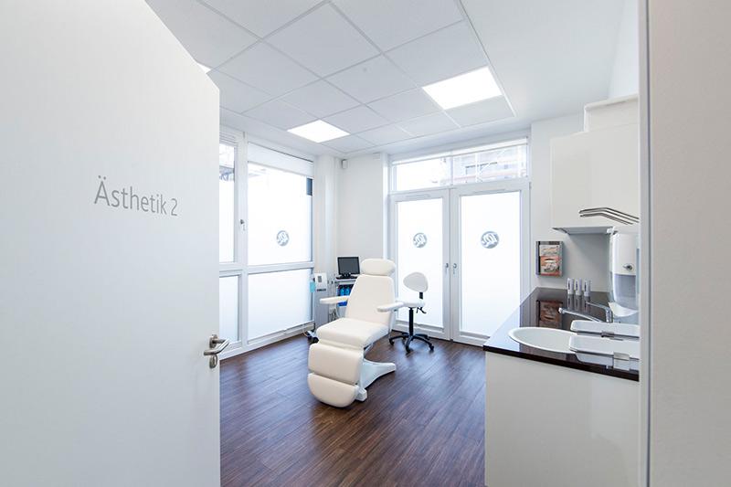 Dermatologie Quist - Unsere Praxisräume